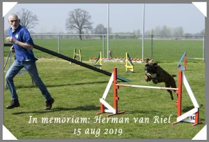 In memoriam Herman Van Riel