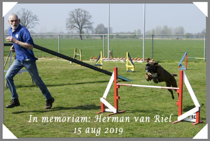 In memoriam Herman Van Riel